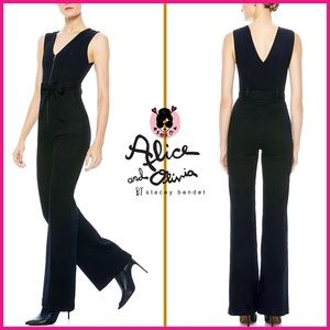 🏷 🆕 Alice + Olivia Denim Long Jumpsuit